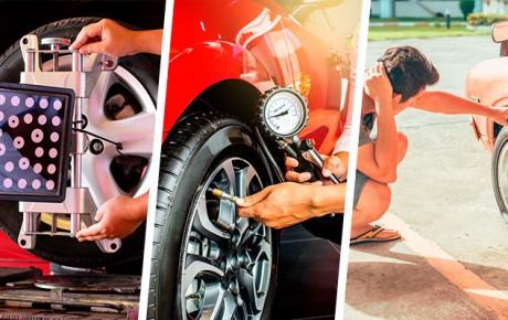 Cómo cuidar los neumáticos
