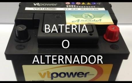 Por qué no carga la batería de mi coche