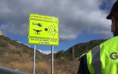 Los 100 tramos más peligrosos, señalizados