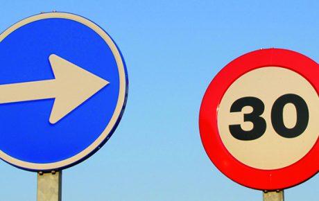 Nuevos límites de velocidad en las ciudades