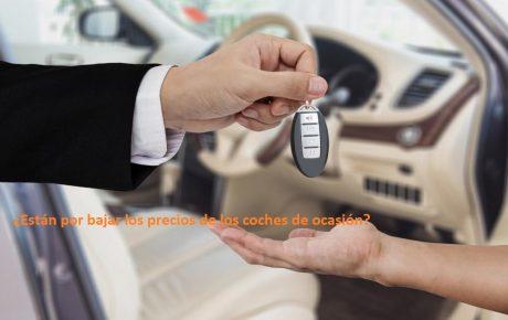 Están por bajar los precios de los coches de ocasión