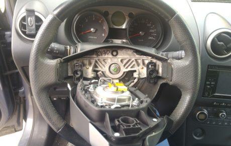 Síntomas del anillo del airbag roto