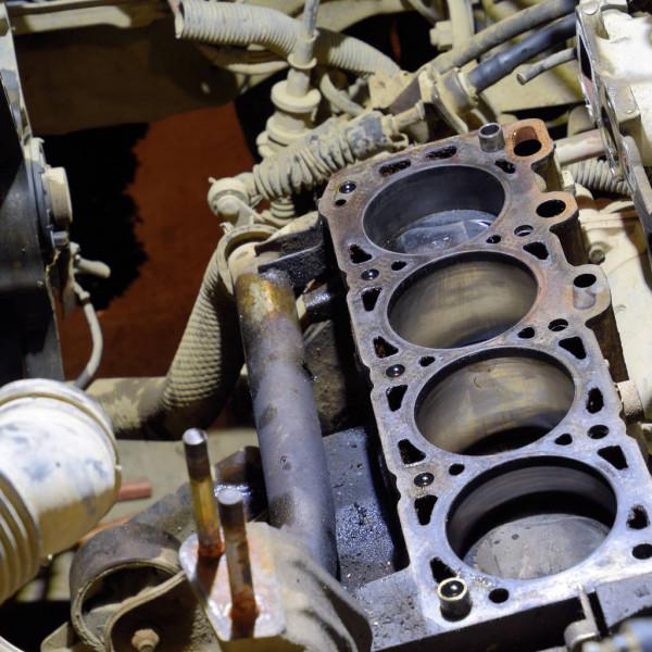 daños motor por aceite viejo