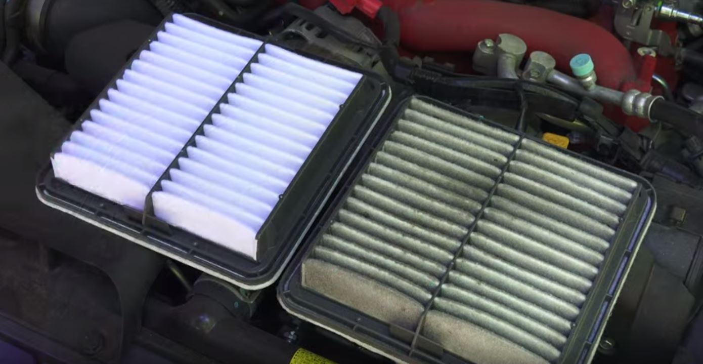 motor vibra a ralentí por culpa del filtro de aire