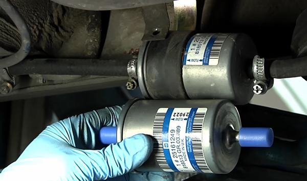 donde esta el filtro de gasolina del coche