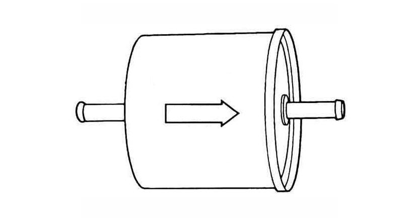 dirección filtro de gasolina